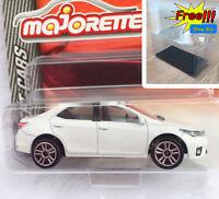 Majorette Toyota Corolla Altis White Diecast Car 1/61 292J Free Show Box