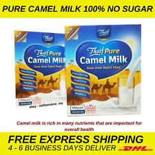 NO SUGAR NO PRESERVATIVE Original Camel Milk Powder halal 25 grams x 20 sachets