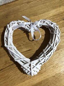 Heart Plaque - Hanging Heart - Weaving