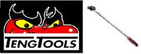 Teng Tool Breaker Bar Square Drive Flexible Handle 17in 1/2in 450mm