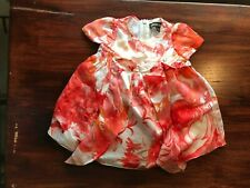 Roberto Cavalli Baby girl floral silk dress New w/o tag 3 Months