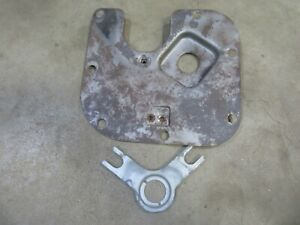 1954 Cadillac Fleetwood firewall steering column cover access panel piece