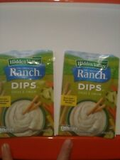 Hidden Valley Chive & Onion Dip Mix. 2 packages