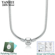 2020 Hot Sale Fine 3mm 45CM 925 Silver Snake Chain Necklace