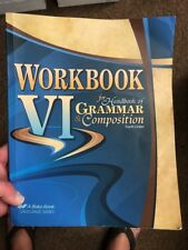 Abeka Workbook VI For Grammar Fourth Edition Student Book A Beka