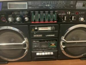 Vintage LASONIC TRC-931 Third Generation Model Radio Cassette Tape Player