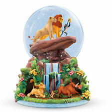 Lion King Rotating Glitter Disney Water Globe Snowdome Musical