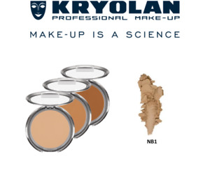 Kryolan Dual Finish Foundation/ NB1 FAST DELIVERY!
