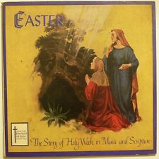 EASTER - THE STORY OF HOLY WEEK - 1960 (?) LP RARE. vg Christian Herald / Bible