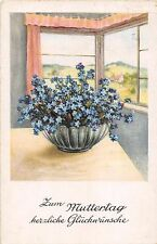 BG4810 muttertag mother day flower germany  greetings