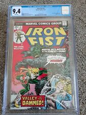 Iron Fist #2 CGC 9.4 12/75