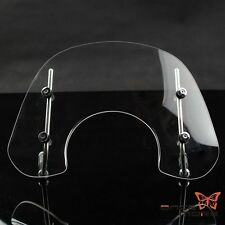 Clear Motorcycle Wind Screen Windshield With Fitting Kit For Vespa Primavera 150