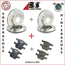Kit Bremsscheiben und Bremsbeläge vorne + hinten ABS PEUGEOT 406 #l3