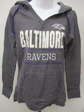 New Baltimore Ravens Womens Size S Small Gray Majestic Hoodie MSRP $50