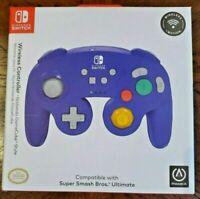 PowerA Wireless GameCube Style Controller for Nintendo Switch Purple 1507452-01