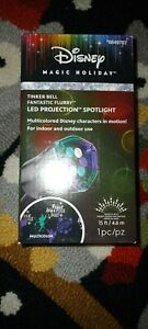 Disney Magic Holiday LED Christmas Light Projector Tinkerbell NEW