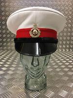 Genuine British Royal Marines RM Peaked Dress Cap / Captains Hat - All sizes