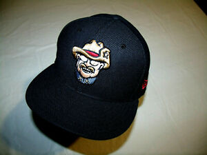 Frisco RoughRiders MiLB Black Hat New Era 59Fifty Fitted 7 3/8 Minor League