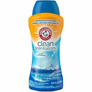Arm & Hammer in-Wash Scent Booster, Purifying Waters, 37.8 Ounce (Pack of 1)