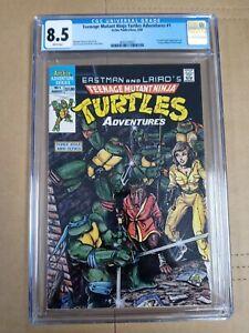 Teenage Mutant Ninja Turtles Adventures #1 CGC 8.5