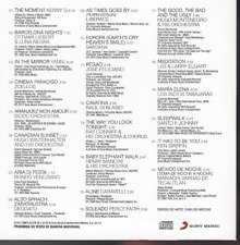 rare INSTRUMENTAL CD sleeve KENNY G Barcelona Nights OTTMAR LIEBERT Yanni KENNY