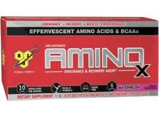 BSN AMINO X ENDURANCE AND RECOVERY AGENT in Watermelon, 4/6 Packets, New