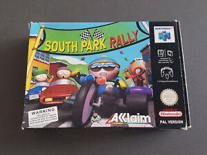 South Park Rally - Nintendo 64 N64 Game - [UKV PAL CIB] Boxed with manual