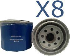 8X Oil Filter fits Z495 Subaru Impreza WRX 2.0 (GF) 1994 - 2000