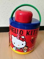 Cute Pink Hello Kitty Bottle Thermos Insulation Cup with Pom Pom Pendant 280ML