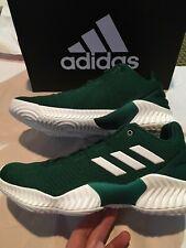 New NWT basketball shoes adidas pro bounce low 2018 green Boston Celtics 9 mens