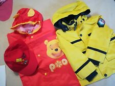LOTTO bambino 2 anni  LV93 giacca Benetton e mantella pioggia pooh e berretto