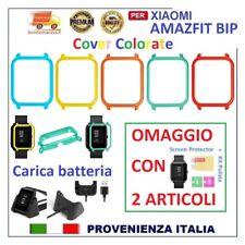 ⭐⭐AMAZFIT BIP COVER COLORATA PER XIAOMI AMAZFIT SMART BIP CAVO CARICA BATTERIA