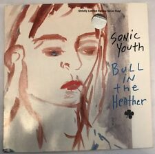 """Rare Sonic Youth Bull In The Heather 10"""" Silver Vinyl Numbered Ltd Ed. (Warped!)"""