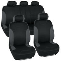 Full Car Seat Cover Set Fits Toyota Corolla Polyester Interior w/Headrest Covers