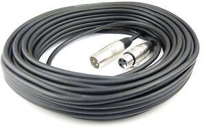 20 m Mikrofonkabel 3 pol XLR DMX Adam Hall Mikrofon Kabel Neutrik kompatibel