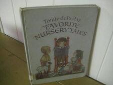 Tomie de Paola's Favorite Nursery Tales/  hardback/ oversized/ Mother Goose/1986