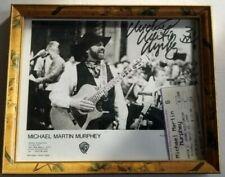 Michael Martin Murphey Signed Autographed Tonight We Ride Record Album w Signing Photo