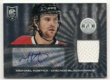 Michael Kostka 13-14 Panini Totally Certified Rookie Autograph Signature Jersey