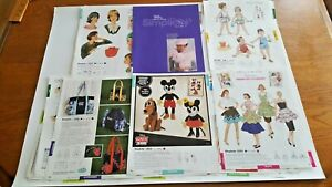 SIMPLICITY PATTERN CATALOG PAGES - VINTAGE REPRODUCTIONS 1930-1970 JUNK JOURNAL