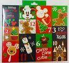 NIB Disney Parks Holiday Food Snack Advent Sock Socks Set Adults 12 pairs Unisex