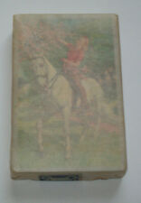 Vintage Playing Cards Horse & Girl Lady Rare New Sealed With US Rev. Stamp 1Pack