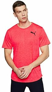 Puma Men's Dri-Release Novelty T-shirt, Bright plasma Heather L