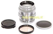 Carl ZEISS Jena Sonnar 1:2 f=8.5cm Chromed Brass PRE-War Lens CONTAX Micro 4/3