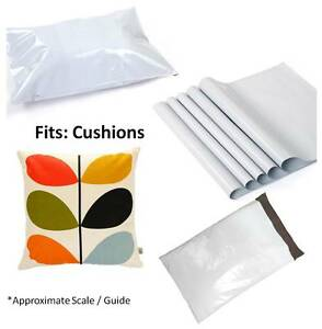 Size 24 x 24 ( 600 x 600 mm) White Mailing Bags Quality Smooth White Poly Postal