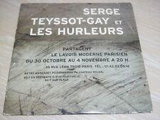 SERGE TEYSSOT-GAY (NOIR DESIR) LES HURLEURS CD SINGLE 3 TITRES 2000 CD PROMO