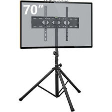 Tv Tripod Stand for Lcd Led Plasma Flat Panel Fits 32 to 72 inch Tvs/Monitor