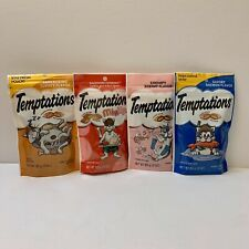 Whiskas Temptations Treats All Cats Love:) (Lot Of 4 - 3 Oz Bags, Factory Sealed