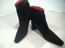 Women's 8 Coach Black Suede Boots
