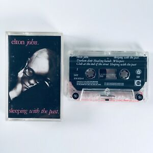 Elton John - Sleeping With The Past (1989) Album Cassette Tape - Play Tested