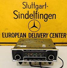 Mercedes-Benz Radio Becker Europa II Stereo With AMP Pagoda W107 W114 W109 W111